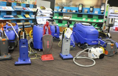 Cleaning equipment that should be available at all times